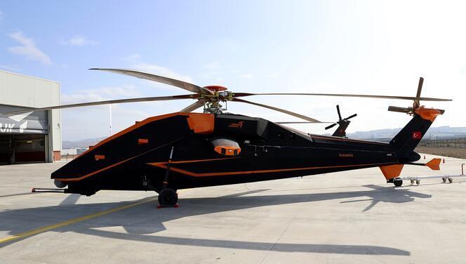 T629 helikopterinin insansız ve elektrikli ön prototipi ilk kez sergilendi