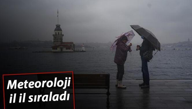 İstanbul için saat verdi! İşte son hava durumu raporu