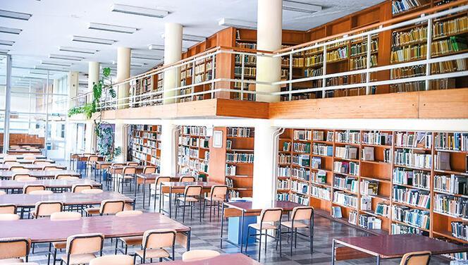 Bu da orman kütüphanesi