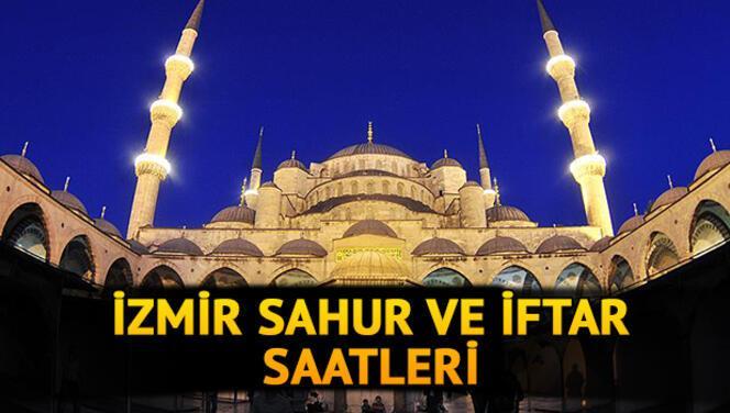 İzmir iftar vakti 2021: İzmir iftar, sahur, akşam ezanı saat kaçta? İşte İzmir İmsakiyesi