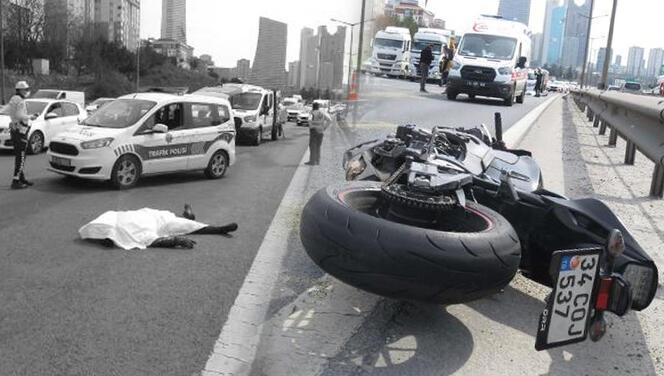 İstanbul'da feci kaza! Metrelerce sürüklendi... Acı haber