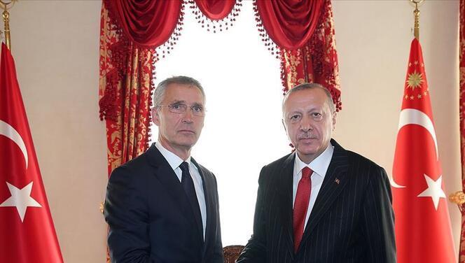 NATO Genel Sekreteri ile görüştü