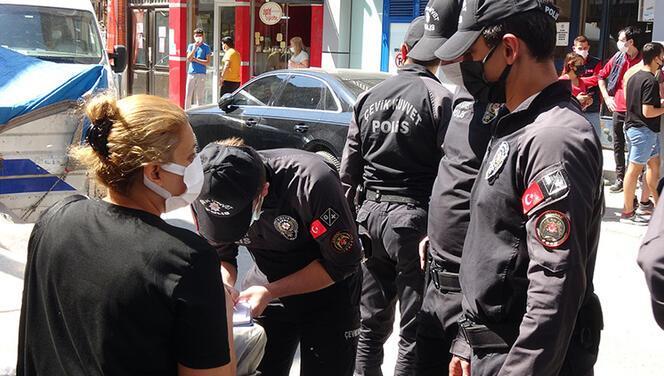 Edirne'de tam kapanmada çocuklarıyla markete gidenlere ceza!