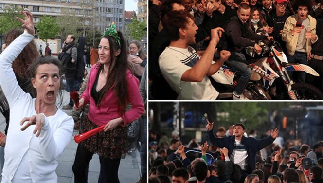 7 aydır süren Kovid- 19 tedbirleri kaldırıldı: On binler sokaklara döküldü
