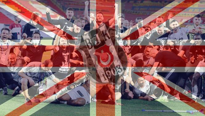 İngiltere'de Beşiktaş coşkusu!
