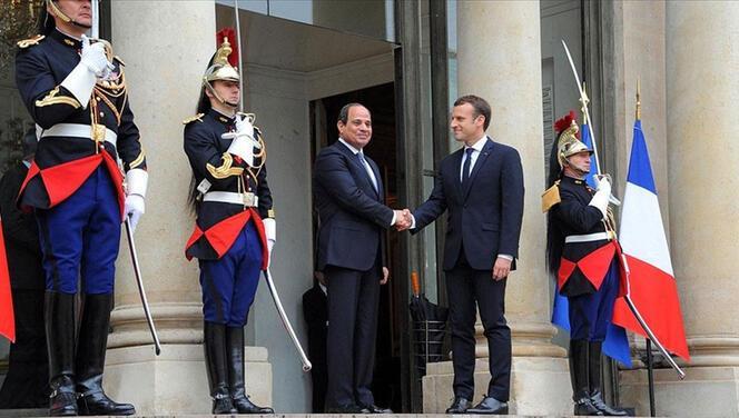 Mısır ve Fransa arasında 1,7 milyar euroluk anlaşma