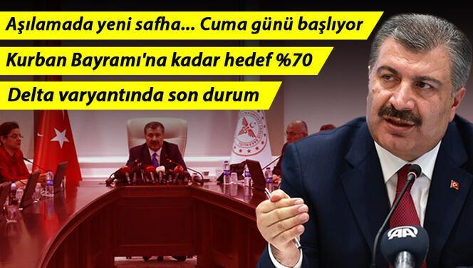 Son dakika haberi: Sağlık Bakanı Fahrettin Koca'dan önemli açıklamalar! Yarın başlıyor..