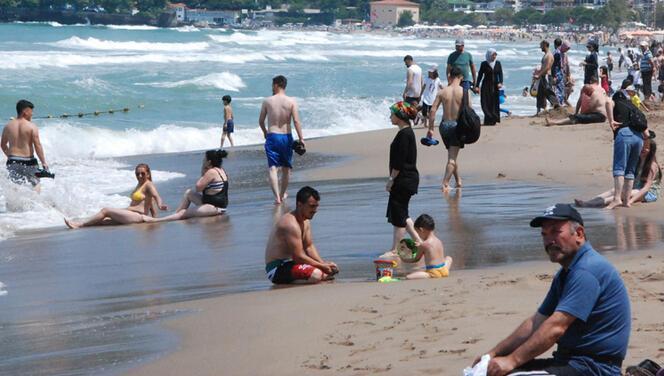 Bir yerde daha denize girmek yasaklandı!