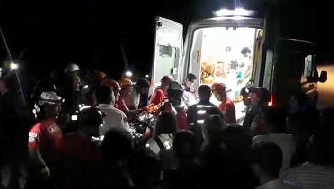 Bursa'da kanyona düşen kadın 4 saat sonra kurtarılabildi