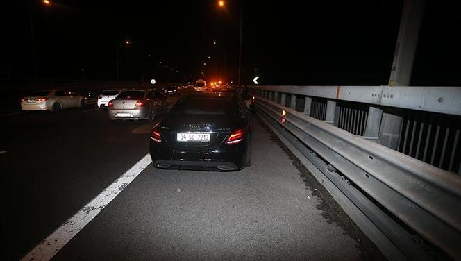 Otoyolda zincirleme kaza! Bolu Dağı Tüneli ulaşıma kapandı