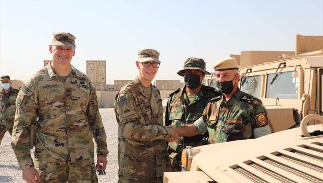 Son dakika... ABD öncülüğündeki DEAŞ karşıtı koalisyondan Peşmerge'ye askeri yardım