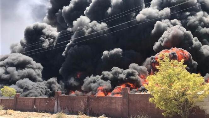 Gaziantep'te depo yangını