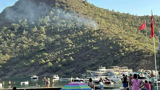 Datça'daki yangınla ilgili soruşturma: Torpiller çocuklara ait çıktı