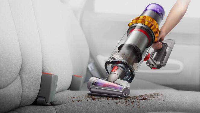 Dyson, lazer teknolojisini kullanan süpürge geliştirdi