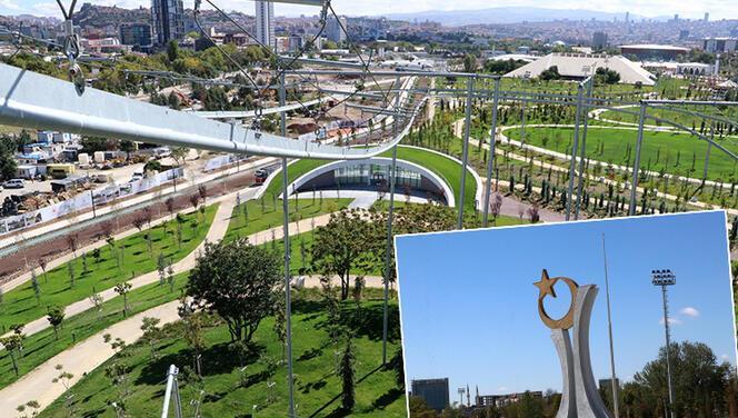 Ankara'da AKM Millet Bahçesi, 28 Ekim'de açılacak