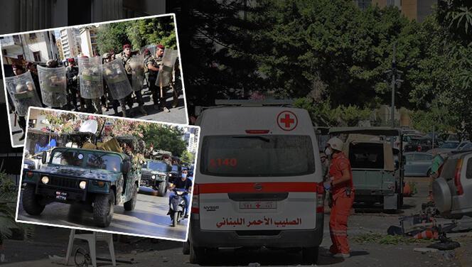 Beyrut'ta kanlı çatışma! Ölü ve yaralılar var...