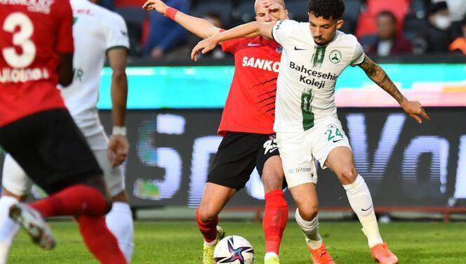 Gaziantep FK - Giresunspor maçından fotoğraflar