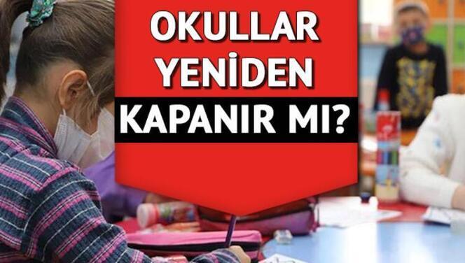 Okullar kapanacak mı? Yüz yüze eğitime ara verilir mi? Sağlık Bakanı Koca'dan net yanıt!