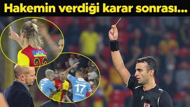 Göztepe-Trabzonspor maçında saha karıştı! Hamsik, Atınç Nukan ve...