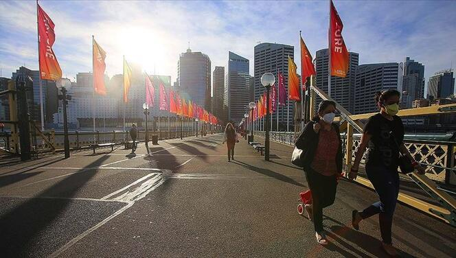 Avustralya'da Kovid-19'un Delta varyantı etkisini sürdürüyor