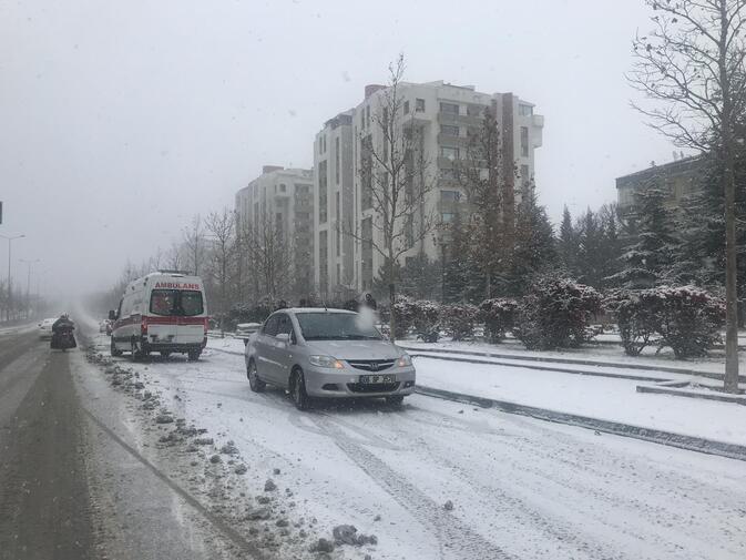 Yılın ilk kar sınavı
