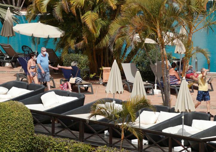 Son dakika haber: Tenerifedeki karantina oteli görüntülendi