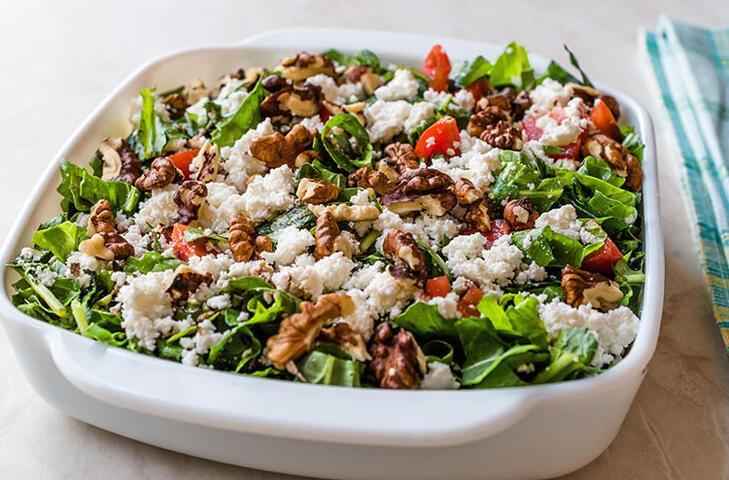 Bu salata hem çok sağlıklı hem de çok besleyici