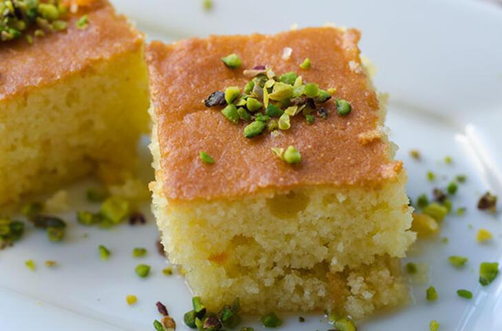 Şerbetli tatlıların en hafifi: Yoğurt tatlısı