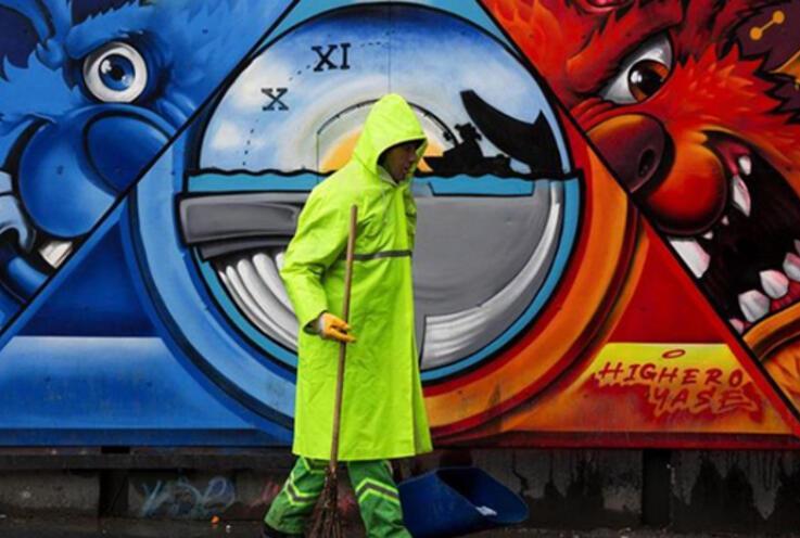 Türkiye'nin 81 iline 'tavşan' çizen grafiticinin hedefi dünyayı boyamak