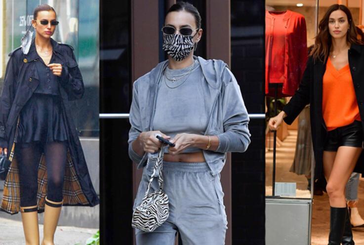 Irina Shayk'ın Kusursuz Sokak Stili