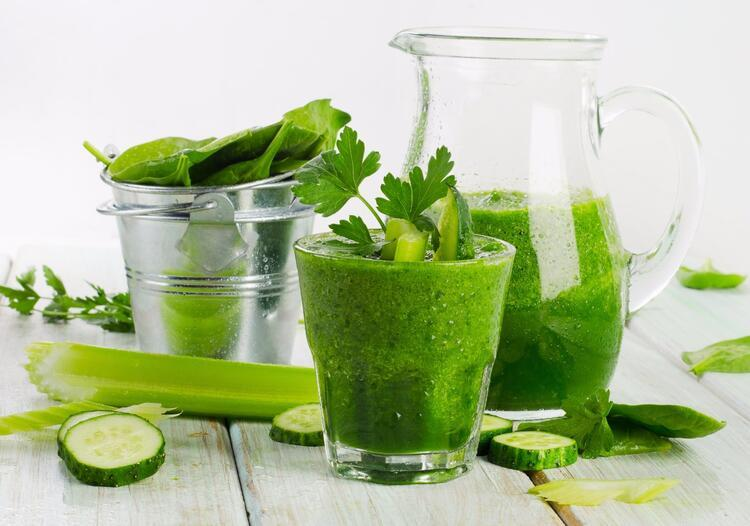 Salatalıklı smoothie tarifi