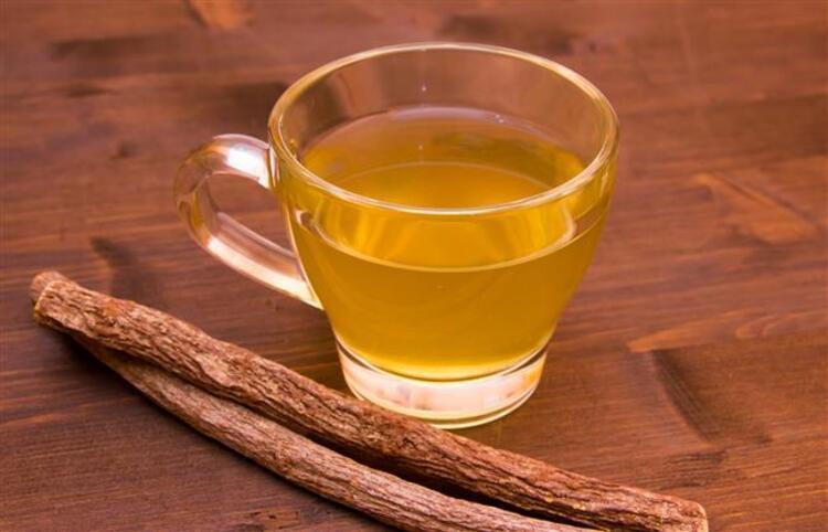 7. Meyan Kökü Çayı: