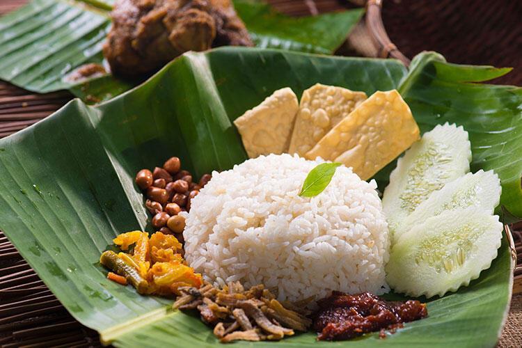 Malezya: Nasi lemak