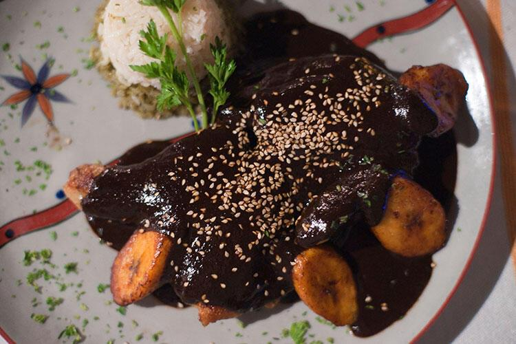 Meksika: Mole sosu