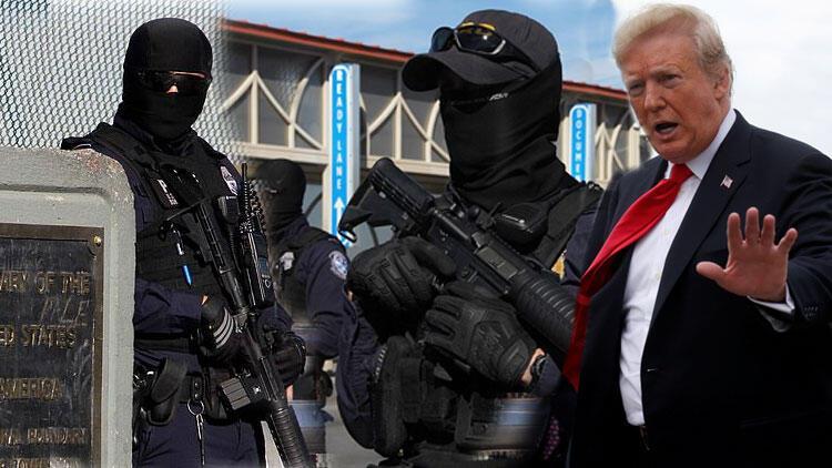 Trump'ın askerleri provaya başladı - Sondakika Haberler