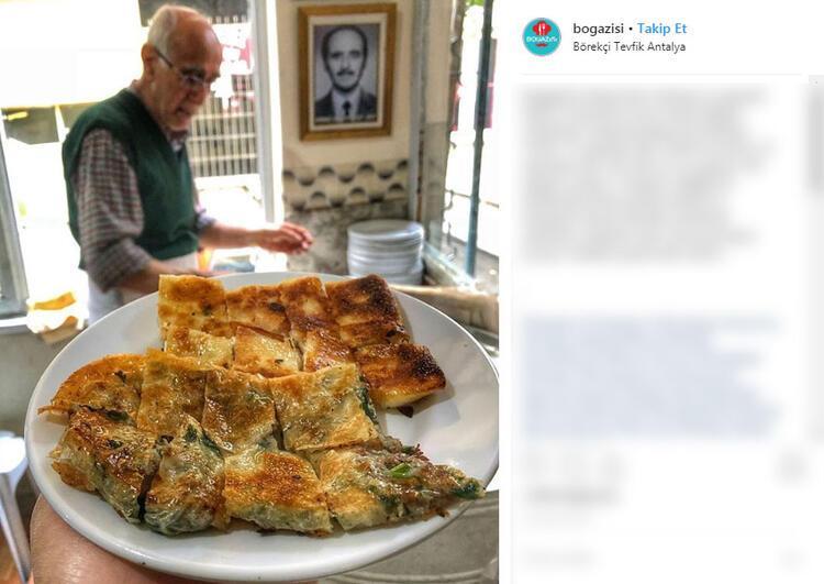 Börekçi Tevfik - Antalya
