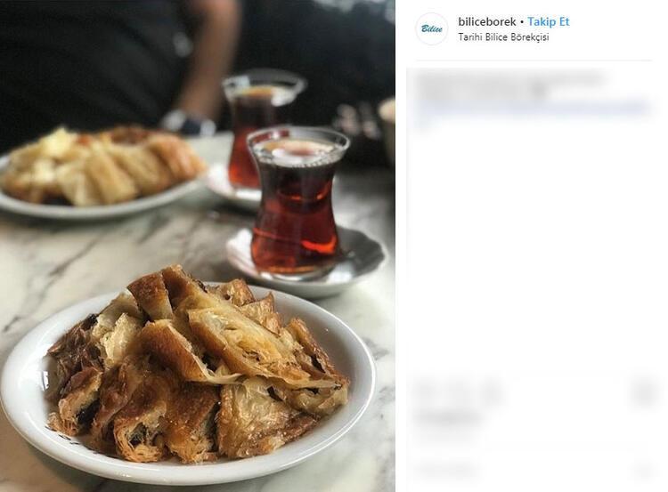 Tarihi Bilice Börekçisi - İstanbul