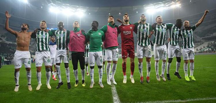 6 - Bursaspor 38 puan