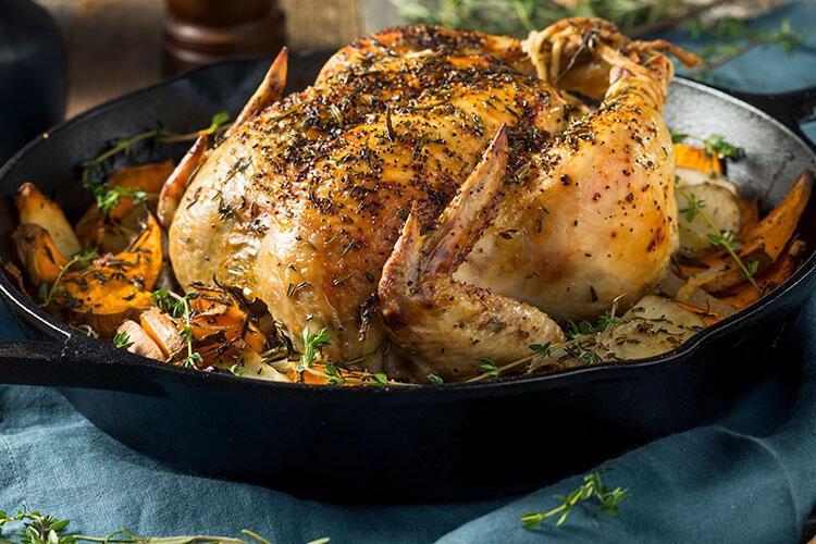 Fırında tavuk tarifi