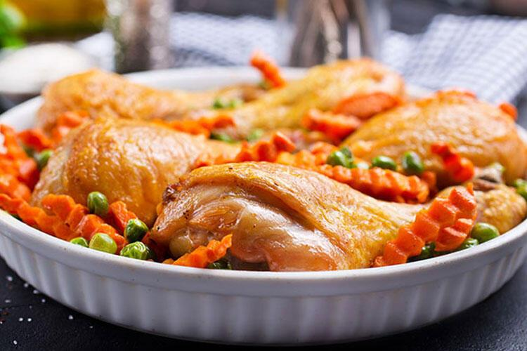 Kremalı sebzeli tavuk tarifi