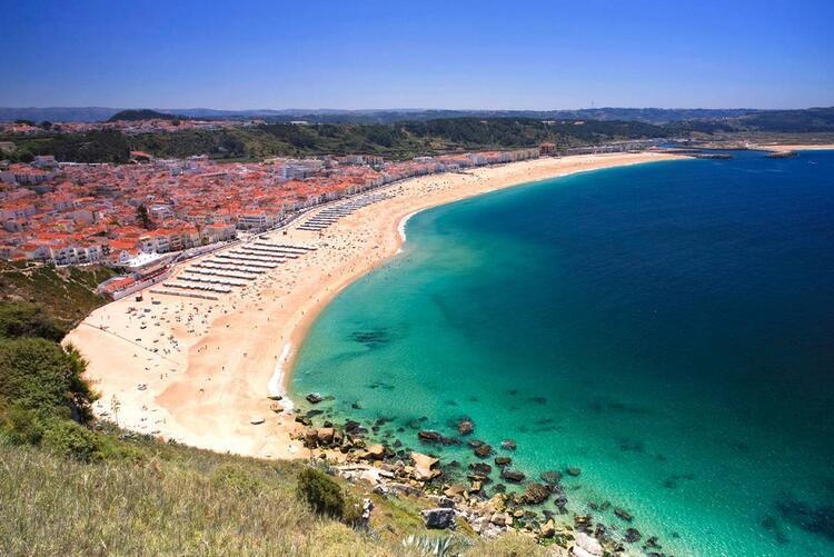 Nazare, Costa de Prata  | Portekiz