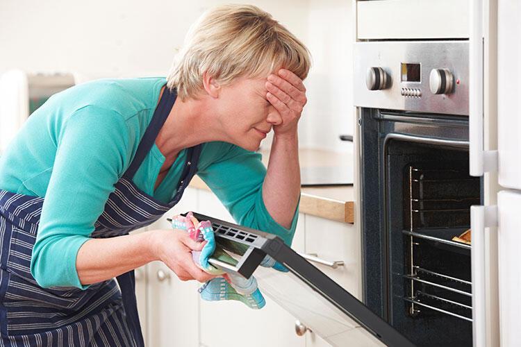 Fırınınızı yeterince ısıtmadan yemekleri fırına veriyorsunuz.