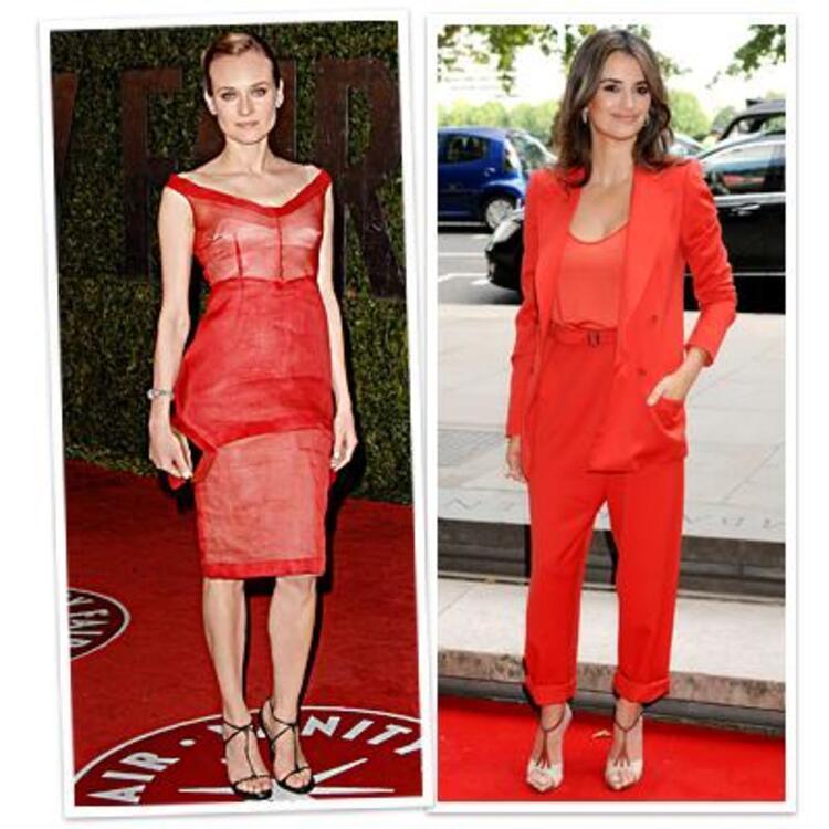 Kırmızı giyin