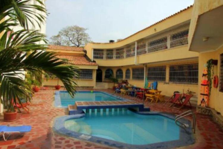 Bırak Bear Hostel, Kolombiya.