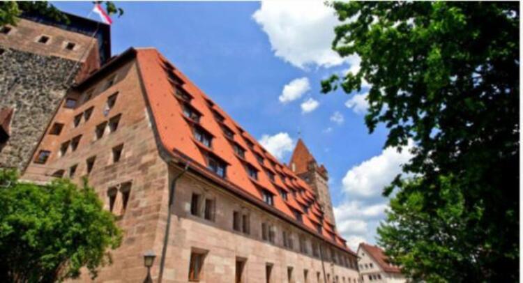 Castle Hostel, Nürnberg, Almanya.