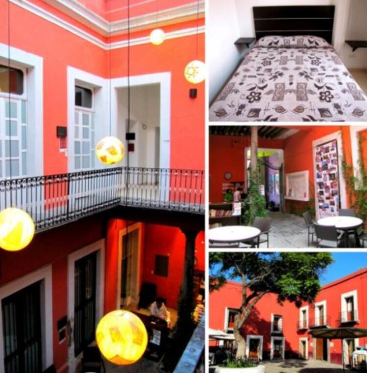 Hostal Casona Poblana, Puebla, Meksika.