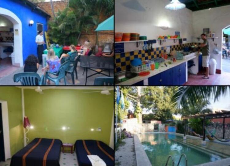 Nomadas Hostel, Merida, Meksika.