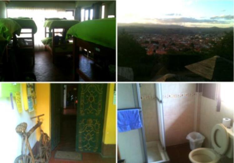 Sucre, Bolivya Beehive Pansiyon.
