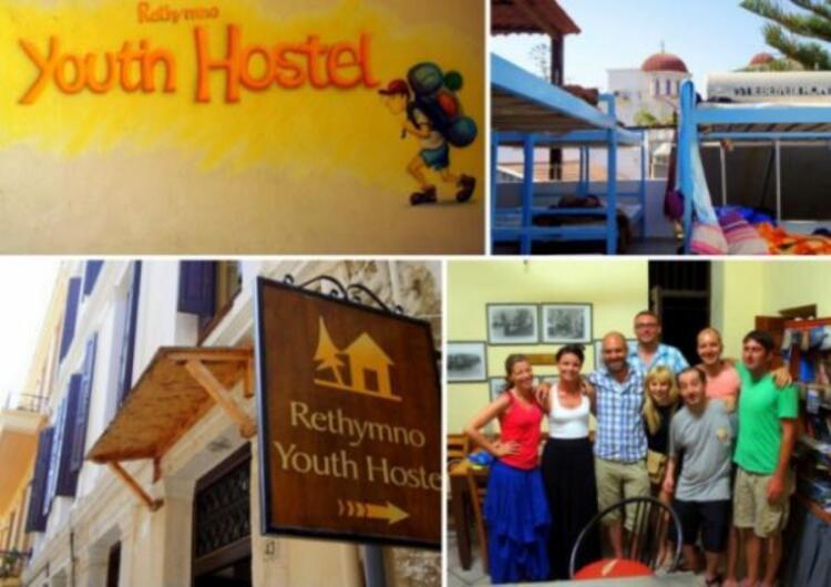 Resmo Youth Hostel, Crete, Yunanistan.