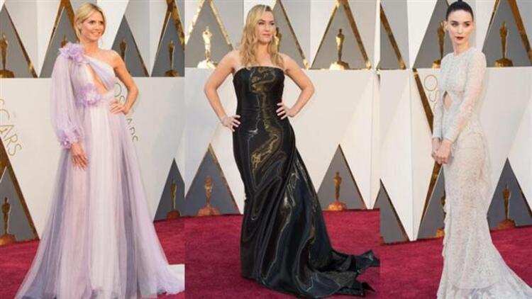 Hollywoodun ünlü kadınları ve erkekleri dün gece Los Angelesta düzenlenen Oscar töreni için aylar öncesinden hazırlanmaya başladı. Özel diyetler ve gençleşme kürleri uygulandı. Gerekiyorsa estetik kliniklerin kapısı çalındı... Ve elbette en önemlisi ünlü modacıların imzasını taşıyan birbirinden iddialı kostümler gadroplarda o gece giyilmek üzere yerini aldı. Sonunda o gece geldi çattı. Herkes içinde iyi göründüğünü düşündğü kıyafetini giyip Doly Tiyatrosnun yolunu tuttu. İşte o andan itibaren de eleştiren bakışlar yıldızları süzmeye başladı. Bir yanda moda konusunda uzman olanlar bir yanda da sosyal medyada klavye başında hazır bekleyenler harekete geçti. En şıklar ve en kötü giyinenlerle ilgili yorumlar uçuşmaya başladı. Elbette güzel ya da çirkin genel olarak bakan göze göre değişen kavramlar. Ama bir de çoğunluğun üzerinde hemfikir olduğu durumlar var. Bu değerlendirmelere göre işte Oscarda kırmızı halının en iyileri ve en kötüleri.
